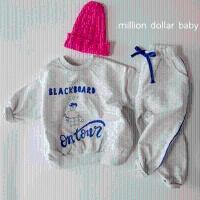 밀리언달러베이비(MILLION DOLLAR BABY)-504548138<br>Size: S~XXL<br>Color: white melange<br>Update: 2020-02-11