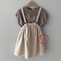몽베베(MON BEBE)-504611627<br>Size: S(1~2y)~XL(7~8y)<br>Color: dark beige<br>Update: 2020-05-21