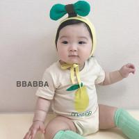 빠빠(BBABBA)-504613623<br>Size: S(~9m)~M(~18m)<br>Color: mango<br>Update: 2020-05-26