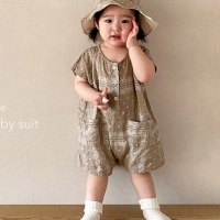 몽베베(MON BEBE)-504614207<br>Size: S(6~12m)~L(24~36m)<br>Color: beige<br>Update: 2020-05-27